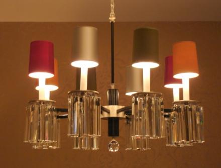 Moderne Lampen 8 : Moderne lampen chandelier bel air arm version empel collections