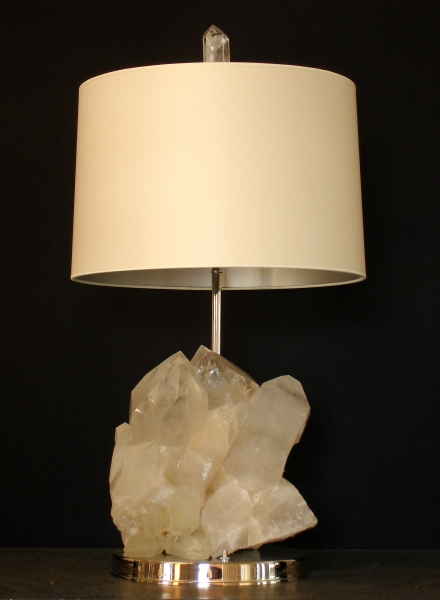 Table lamp natural rock crystal formation empel collections table lamp natural rock crystal formation mozeypictures Gallery