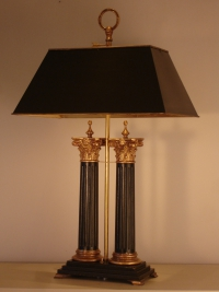 Desk Table Lamp Double Corinthian Column Empel Collections