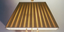 Handgemaakte zijden lampenkap