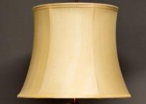 Met de hand genaaide zijden lampenkap klokvorm glad oppervlak
